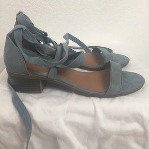 Splash-Wrap Up Sandals-Blue Gray-6